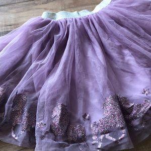 Little Girls Unicorn Tutu Skirt